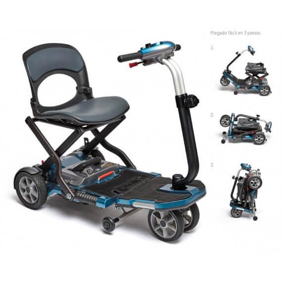 Scooter electrico plegable I-Brio de Apex