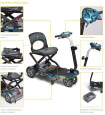 Scooter electrico plegable I-Brio