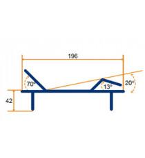 Cama electrica 4 planos 90x196