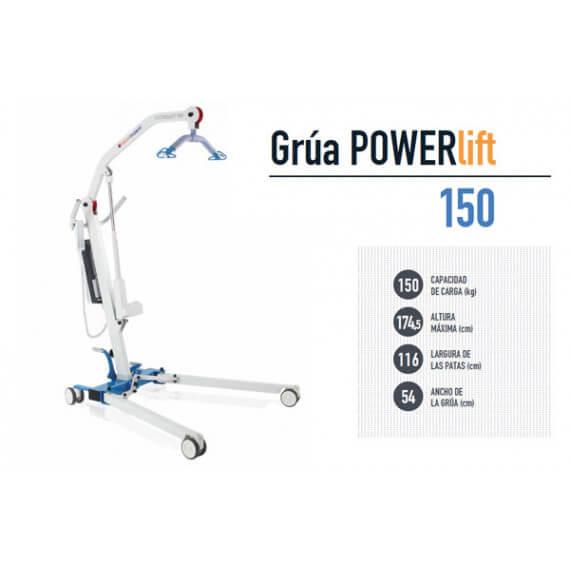 Grua transferencia ortopedia powerlift 150 Kg