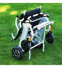 Silla ruedas electrica plegable Mistral10