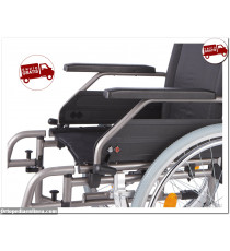 Silla de ruedas Manual económica S-Eco-2 B@B