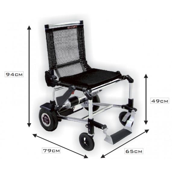 Silla de ruedas electrica plegable Zinger