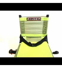 Cinturón Seguridad Nylon Negro Silla Zinger