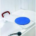 Tabla bañera con disco transferencia