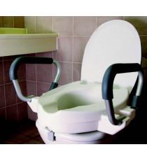 Elevador WC reposabrazos abatibles