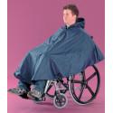 Poncho impermeable silla de ruedas