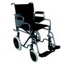 Silla de acero rueda pequeña