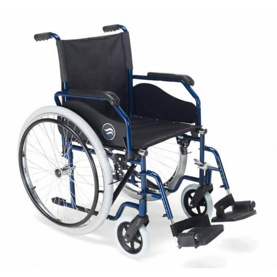 sillas de ruedas manuales plegables
