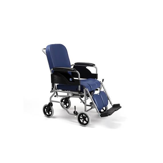Silla de ruedas reclinable WC Interiores