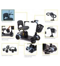 Scooter Electrico NANO de Apex - Desmontable y Compacto