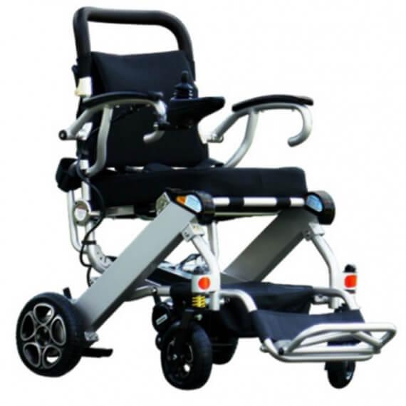 Silla ruedas electrica plegable Libercar Mistral10