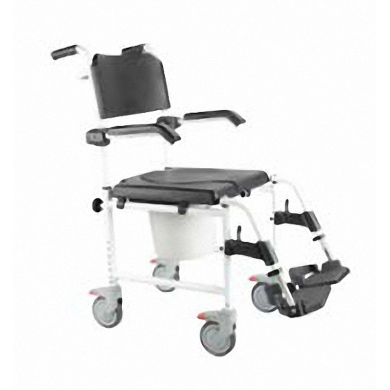 Silla de baño con ruedas pequeñas Sunrise Medical