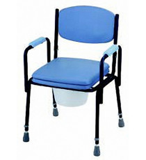 Silla inodoro sin ruedas Sunrise Medical