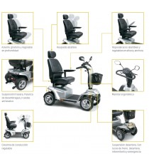 Scooter eléctrico I-Galaxy de Apex