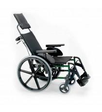 Silla de Ruedas Plegable Breezy Premium respaldo reclinable