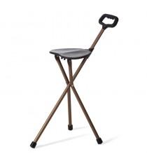 Baston con asiento 3 patas