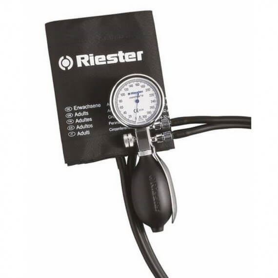 Riester minimus iii - 1340. tensiómetro aneroide de dos tubos adultos