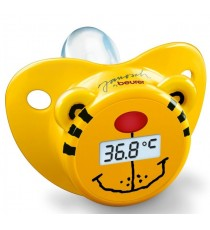 Chupete Termómetro Cosmo Medica Digital Amarillo Acústico