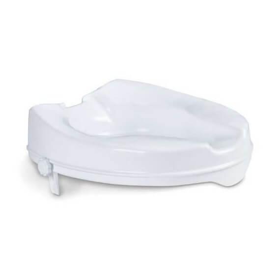 Asiento Elevador WC Sin Tapa Blanco