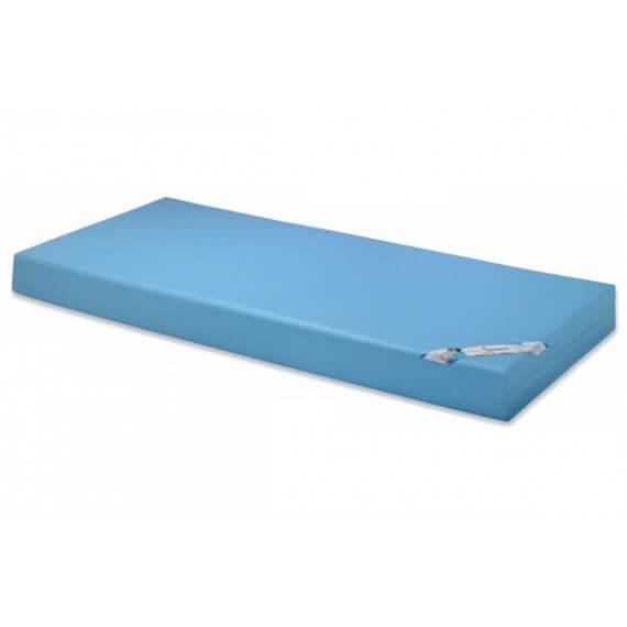 Colchón Poliuretano Mecanizado 105x190 - Funda impermeable - transpirable