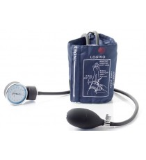 Pack 2 Unidades Tensiómetro Azul Sin Estetoscopio Bolsa Brazalete Velcro