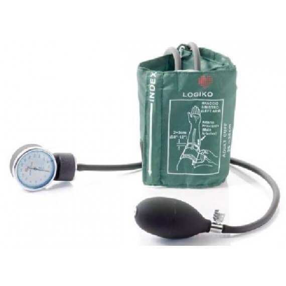 Tensiómetro Verde Sin Estetoscopio Bolsa Brazalete Velcro