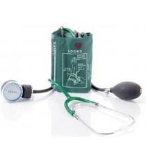 Pack 2 Unidades Tensiómetro Verde Estetoscopio Bolsa Brazalete Velcro