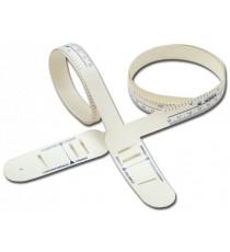 Pack 2 Medidores Diámetro Craneal 60CM Blanco Flexible Plástico