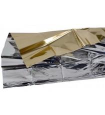 Pack 10 Mantas Térmica Oro/Plata Polietileno 210x160CM Frío/Calor