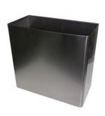 Cubo Residuos Chapa Acero 31x24x13CM Inoxidable