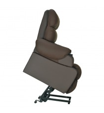 Sillón Elevador Koban Reclinable Beige-Chocolate 44-55CM