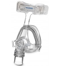 Máscara Facial Wizard 220 Adaptable Silicona Tubo Flexible de APEX