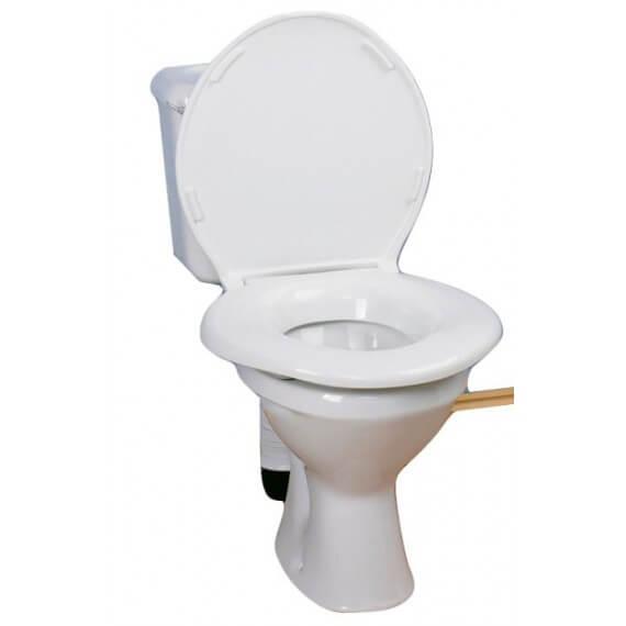 Asiento WC Extra Grande Blanco 48x48CM