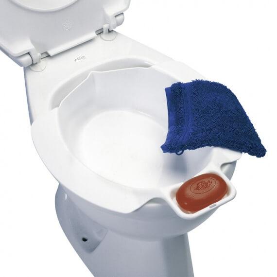 Bidet Acoplable Universal Blanco Plástico 25CM