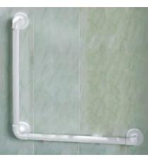 Asidera 90º Estriada Blanco ABS PVC 61CM