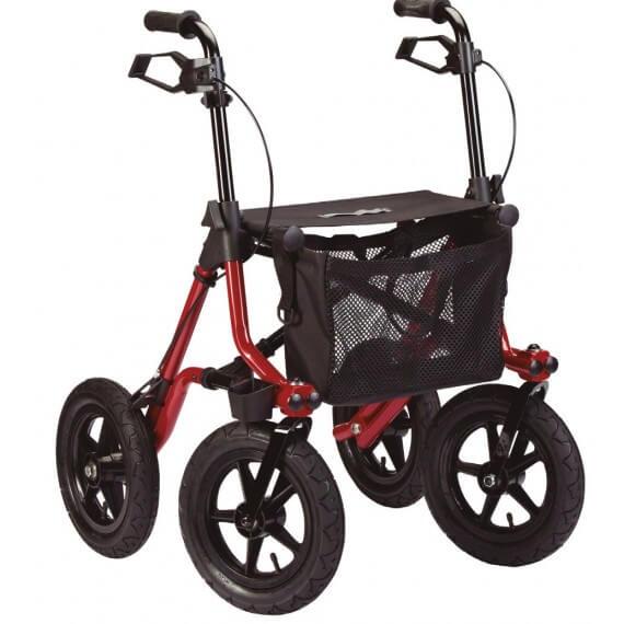 Andador Rollator Todoterreno Taima XL 150KG Graduable Cesta