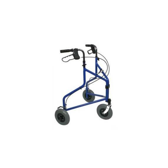 Caminador Extra Maniobrable Delta Azul 100KG Cesta