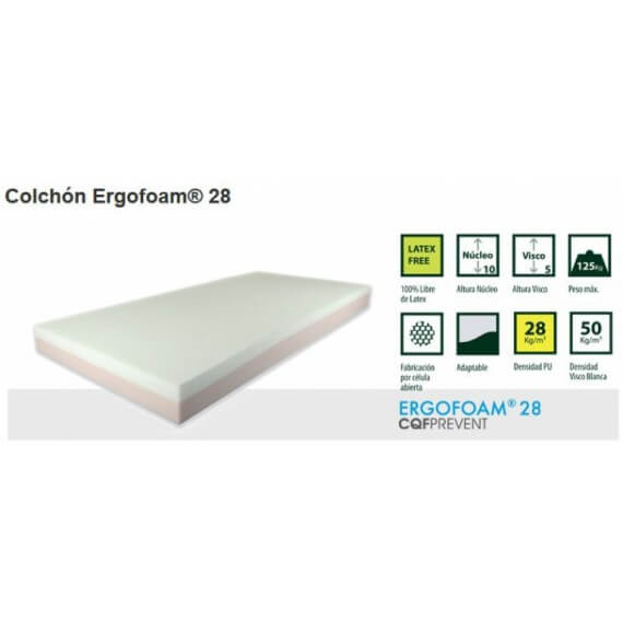 Colchon Antiescaras Ergofoam 28