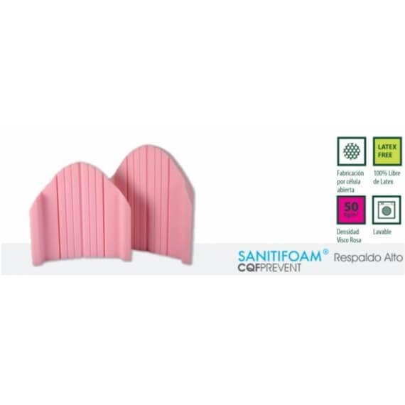 Respaldo de posicionamiento Sanitifoam