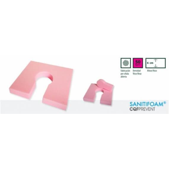 Cojín herradura Sanitifoam