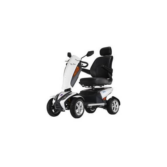 Scooter I-Vita Apex Blanco 700W Suspensión Doble Apoyabrazos