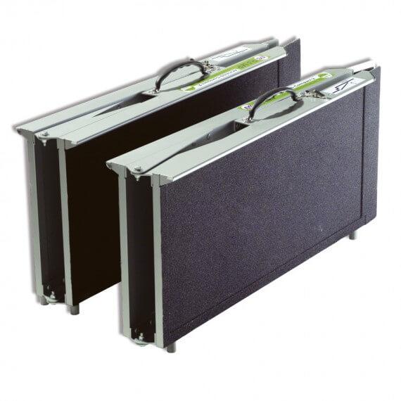 Rampas Multiplegado Silla Ruedas Gran Altura Aluminio