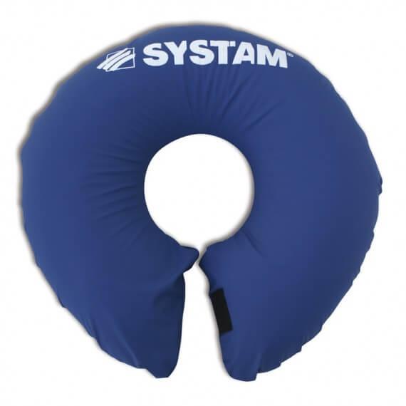 Cojín Posicionador Cuello 50x50CM Azul Cierre Velcro