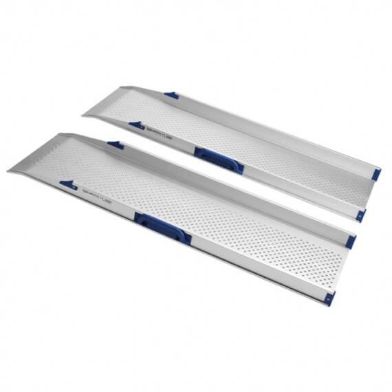 Rampas 1 Pieza Doble Resistentes Estables Aluminio