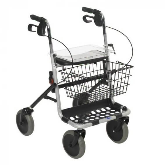 Andador plegable rollator