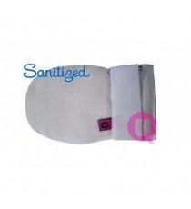 Manopla Suapel PAR Antiescara Antibacterias Antiolores Blanco