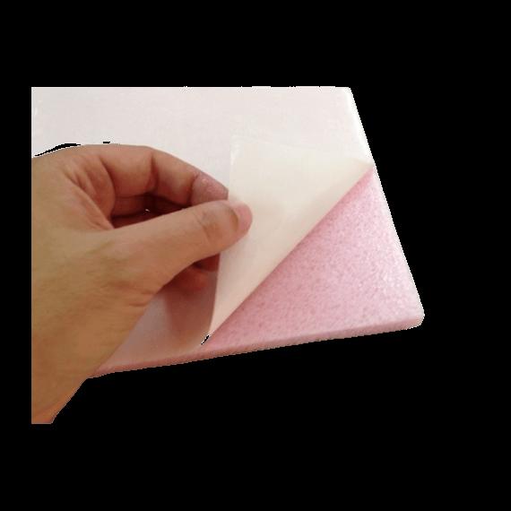 Apósito antiescaras con adhesivo