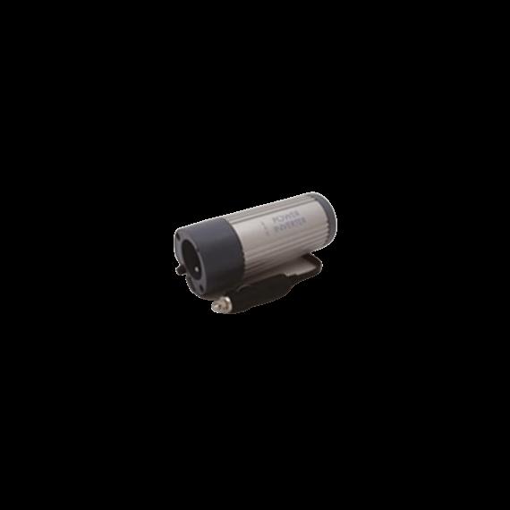 Cargador Batería Coche 12V Circular Gris