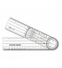 Goniómetro Escala Circular 205x45CM Transparente